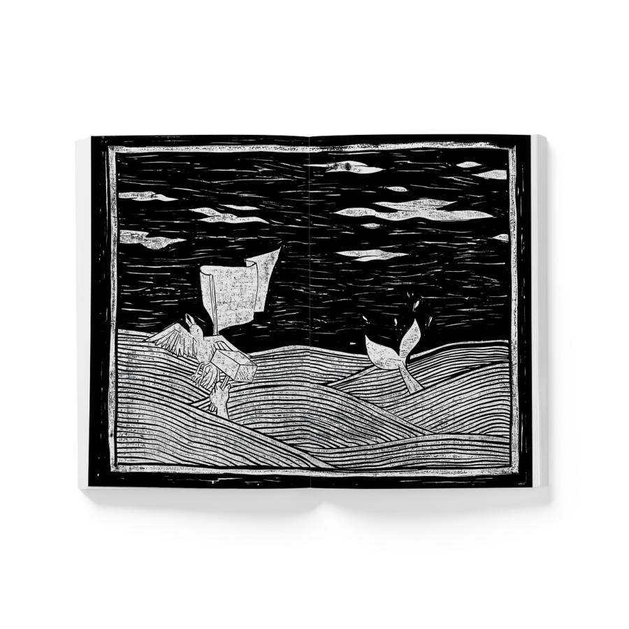 chiara-mulas-accademia-cappiello-moby-dick-linocut-illustrazioni-chimù (5) – Copia
